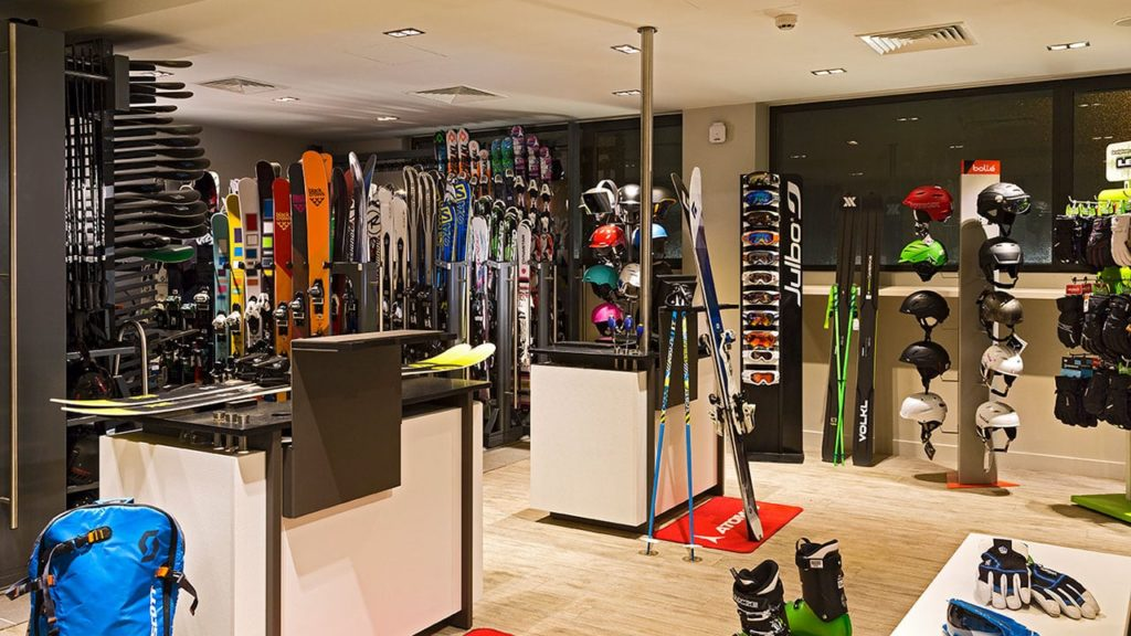 Heliopic Hotel Spa Skishop