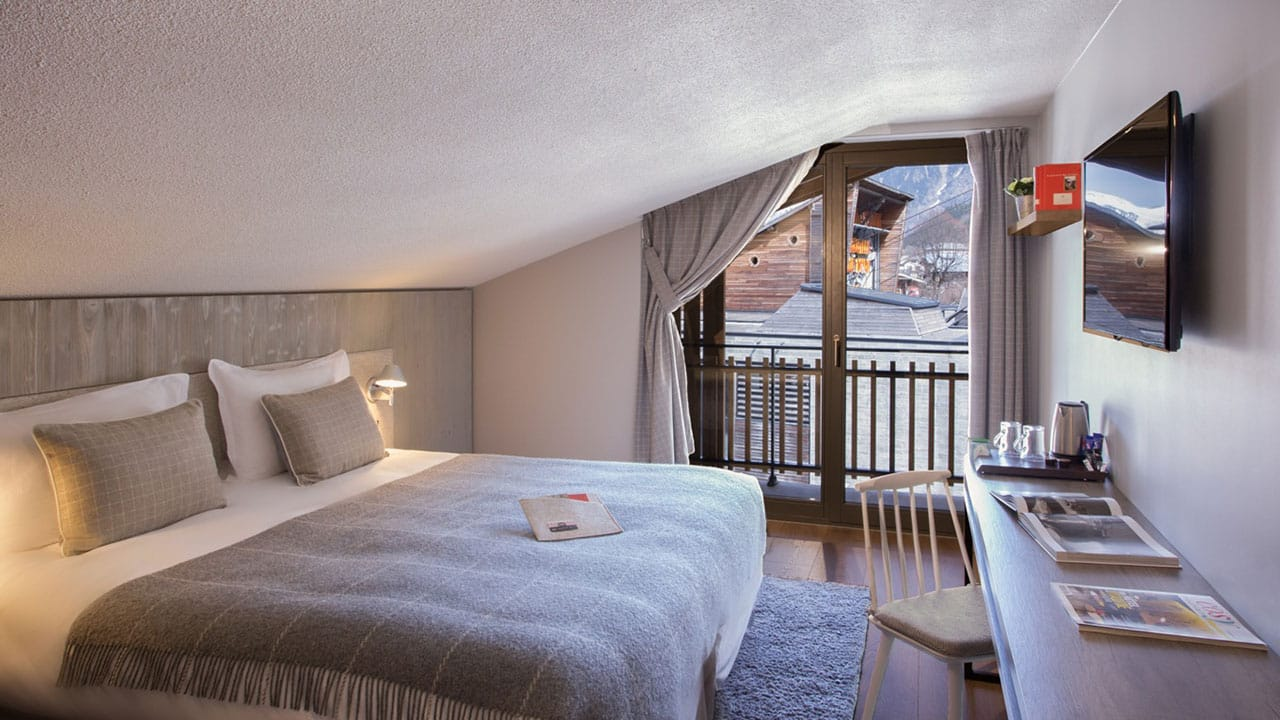 Heliopic Hotel Spa Chambre-mansardee