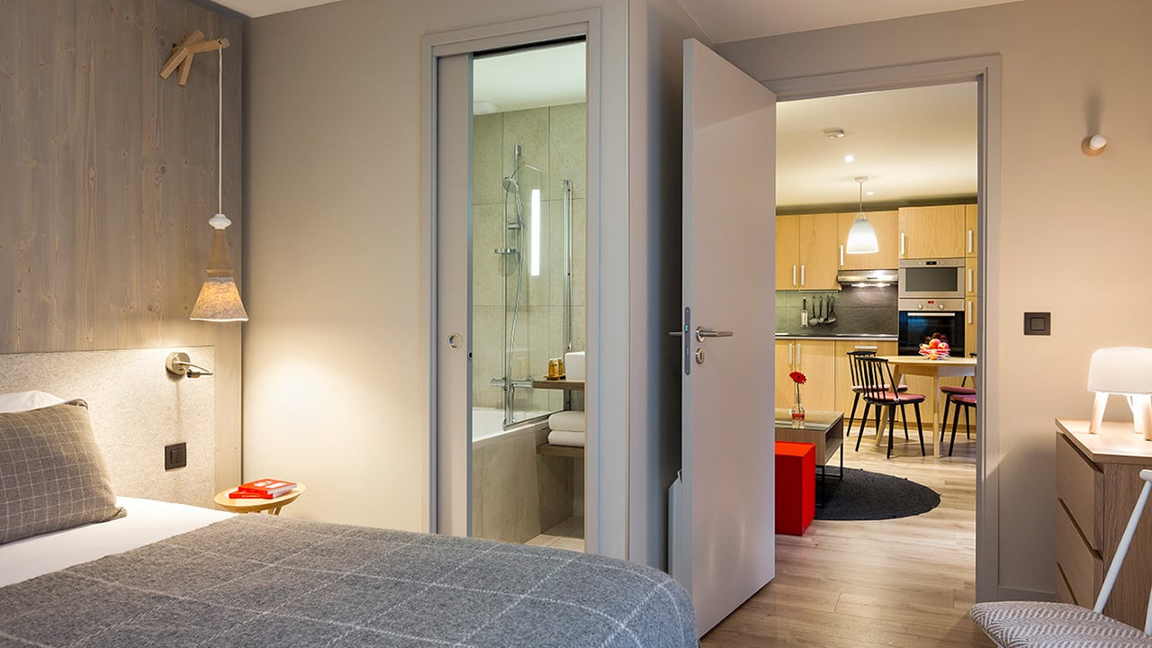 Heliopic Hotel Spa Appartement Nid d Aigle Chambre