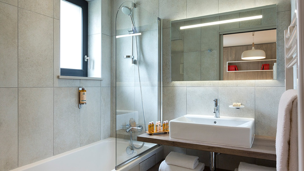 Heliopic Hotel Spa Appartement Gouter Salle de Bain