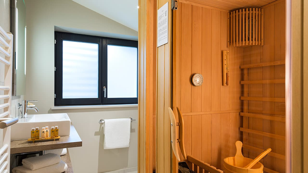 Heliopic Hotel Spa Appartement Gouter Salle de Bain Etage