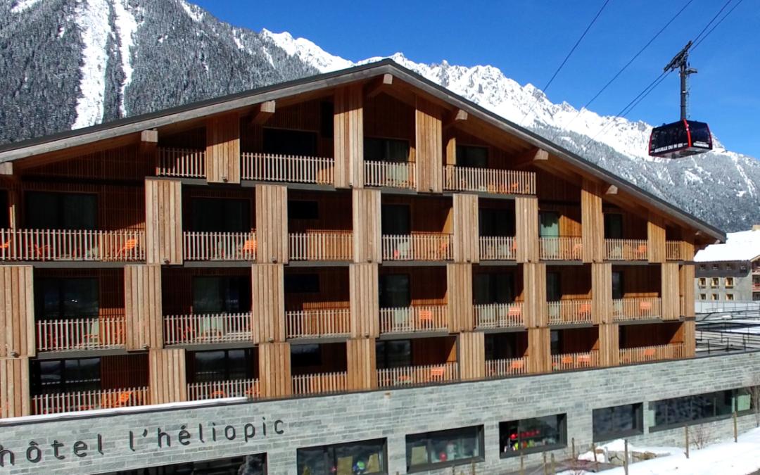 L'hôtel idéal à Chamonix : l'Heliopic Hotel & Spa